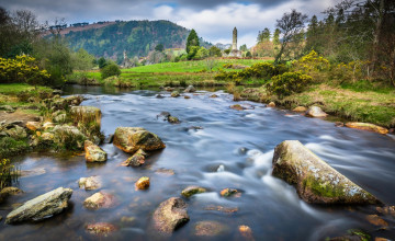 Glendalough Wallpaper