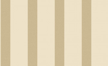 Gold and Cream Striped Wallpaper