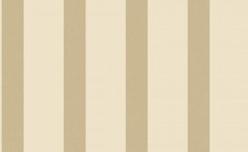 Gold and Cream Striped Wallpaper