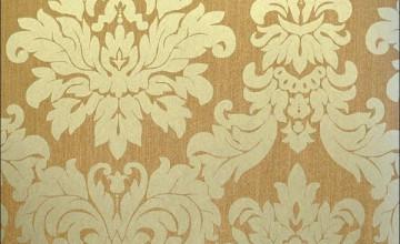 Gold Brocade Wallpaper