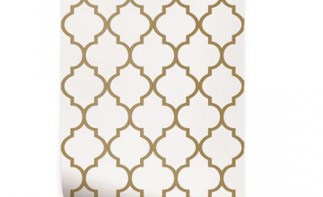 Gold Moroccan Wallpaper