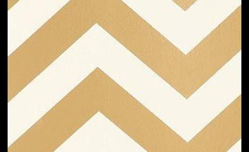 Gold Zig Zag Wallpaper