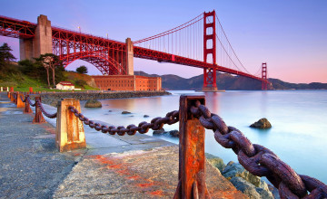 Golden Gate HD Wallpaper