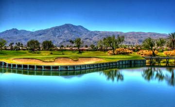 Golf Course Scenes Wallpaper Background