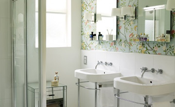 Gorgeous Bathroom Wallpaper