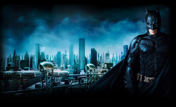 Gotham City HD Wallpaper