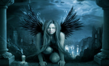 Gothic Angel Wallpaper
