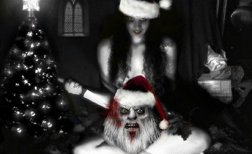 Gothic Christmas Wallpaper