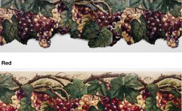 Grape Wallpaper Border