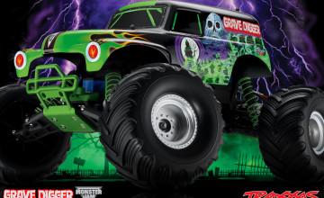 Grave Digger Monster Truck Wallpaper