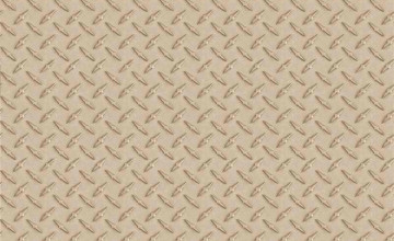 Gray Diamond Plate Wallpaper Border