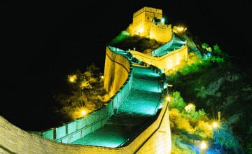 Great Wall of China Night Wallpaper