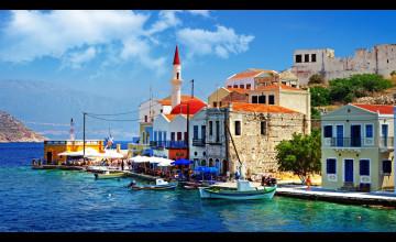 Greece Desktop Wallpaper