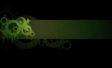 Green and Black Wallpaper