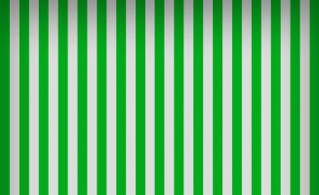 Green and White Striped Wallpaper