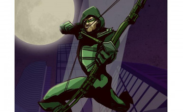 Green Arrow Desktop Wallpaper