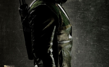 Green Arrow iPhone Wallpaper