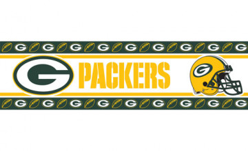Green Bay Packers Wallpaper Borders