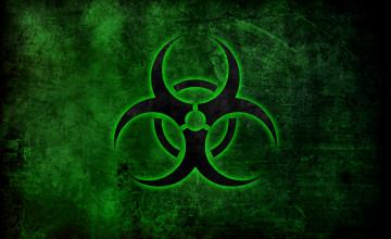 Green Biohazard Wallpaper