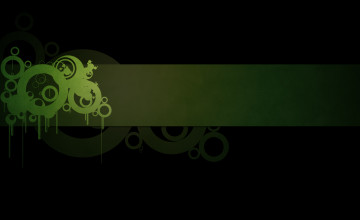 Green Black Wallpaper