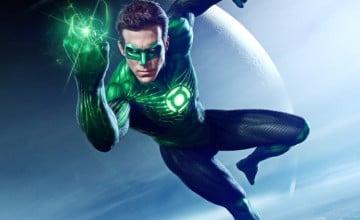 Green Lantern Flying Wallpapers