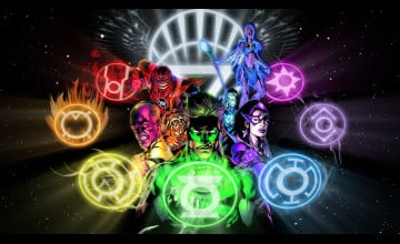 Green Lantern Guardians Wallpapers