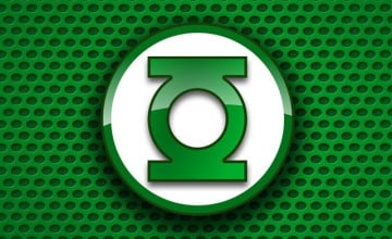 Green Lantern iPhone Wallpaper