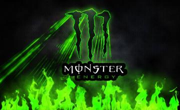 Green Monster Energy Wallpapers