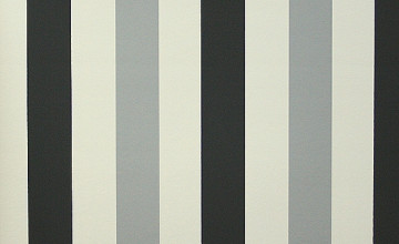 Grey and White Striped Wallpaper