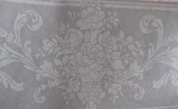 Grey and White Wallpaper Borders