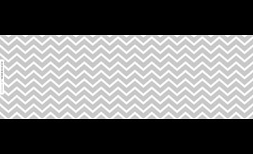 Grey Zig Zag Wallpaper