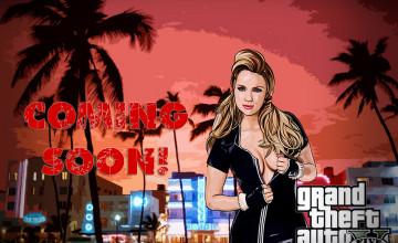 GTA 5 Girl Wallpaper