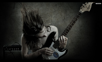Guitar Player Wallpaper