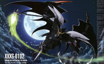Gundam Wing Deathscythe Wallpaper