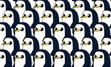 Gunter Penguin Wallpaper