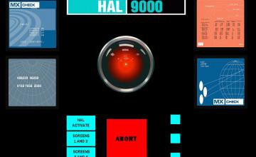 Hal 9000 Wallpaper Windows 8