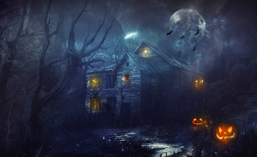 Halloween Computer Wallpaper Widescreen