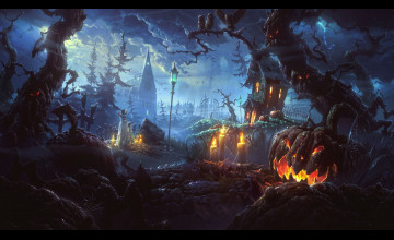 Halloween Free Wallpaper Desktop