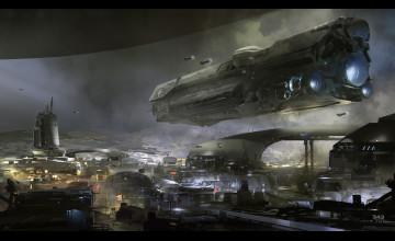 Halo 5 Concept Art Wallpaper