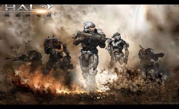 Halo Reach Wallpaper 1366x768