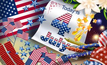 Happy 4th July Wallpaper