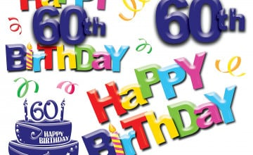 Happy 60th Birthday Wallpaper