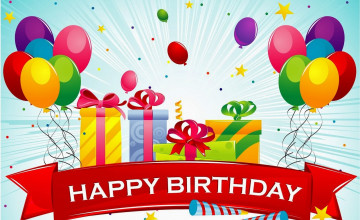 Happy Birthday Wallpapers Free Download