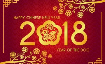 Happy Chinese New Year 2018 Wallpapers