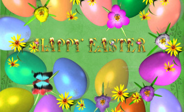 Happy Easter Desktop Wallpaper