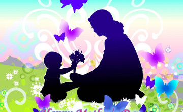 Happy Mother's Day Wallpaper Background