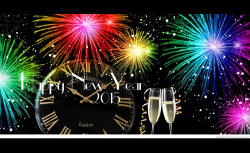 Happy New Year 2015 Pc Wallpaper
