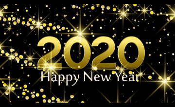 Happy New Year 2020 1920x1080 Wallpapers