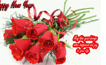 Happy New Year 2020 Flower Wallpapers