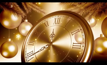 Happy New Year's Eve Countdown Clock 2020 Wallpapers ...